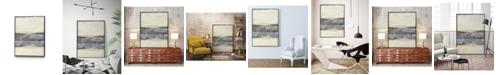 """Giant Art 40"""" x 30"""" Divided Horizon I Art Block Framed Canvas"""