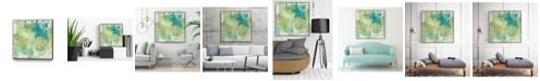"Giant Art 20"" x 20"" World Wind I Art Block Framed Canvas"