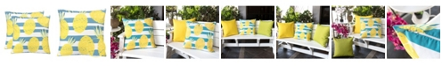 Homey Cozy Outdoor Pillow, Pineapple - Set of 2