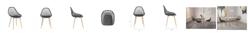 Jamesdar Kurv Dining Chair, Set of 2