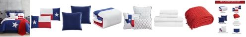 Hallmart Collectibles Austin 14-Pc. Reversible King Comforter Set