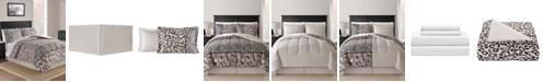 Fairfield Square Collection Safari Blush 8-Pc. Queen Comforter Set