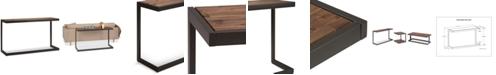 Simpli Home Cajon Console Sofa Table