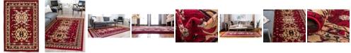 "Bridgeport Home Charvi Chr1 Red 2' 2"" x 3' Area Rug"