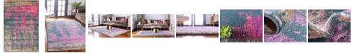 Bridgeport Home Aroa Aro5 Multi 6' x 9' Area Rug