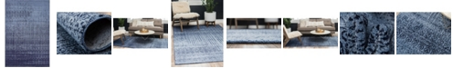 Bridgeport Home Lyon Lyo2 Blue 6' x 9' Area Rug