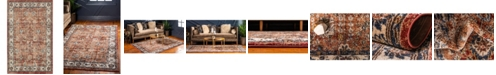 Bridgeport Home Shangri Shg2 Terracotta 5' x 8' Area Rug