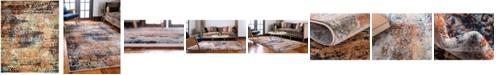 Bridgeport Home Marblesea Mrb4 Peach 8' x 10' Area Rug