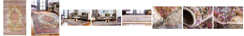 Bridgeport Home Aroa Aro1 Beige 5' x 8' Area Rug