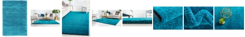"Bridgeport Home Uno Uno1 Turquoise 2' 2"" x 3' Area Rug"