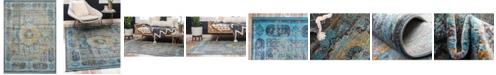Bridgeport Home Kenna Ken2 Blue 10' x 13' Area Rug