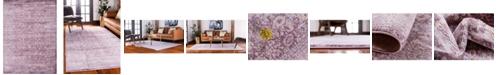 Bridgeport Home Anika Ani2 Violet 8' x 11' Area Rug