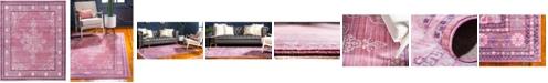 Bridgeport Home Malin Mal2 Pink 8' x 10' Area Rug