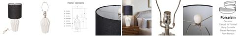 Glitzhome Nordic Minimalism Ceramic Matte Table Lamp
