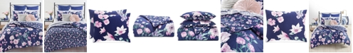 Martha Stewart Collection Midnight Floral 2-Pc. Twin/Twin XL Comforter Set, Created for Macy's