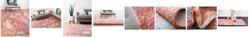 Bridgeport Home Prizem Shag Prz1 Red Area Rug Collection