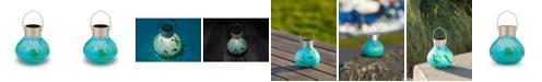 Allsop Home & Garden Solar Glass Tea Lantern