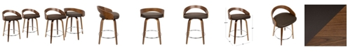 """Lumisource Grotto 24"""" Counter Stool, Set of 2"""