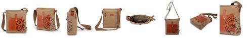 TSD BRAND Super Horse Canvas Crossbody Bag