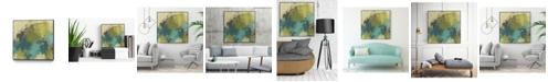"Giant Art 20"" x 20"" Monday II Art Block Framed Canvas"