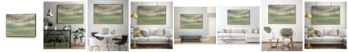 "Giant Art 40"" x 30"" Sunset Study VIII Art Block Framed Canvas"