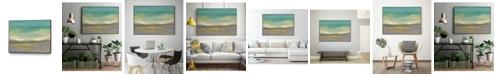 "Giant Art 36"" x 24"" Sunset Study II Art Block Framed Canvas"