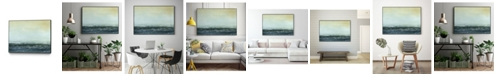 "Giant Art 32"" x 24"" Sea View VI Art Block Framed Canvas"