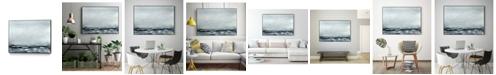 "Giant Art 36"" x 24"" Sea View IV Art Block Framed Canvas"