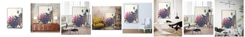 """Giant Art 28"""" x 22"""" Exuberant Splotch Art Block Framed Canvas"""
