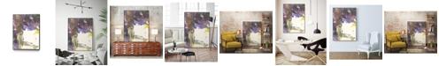 "Giant Art 36"" x 24"" Watery Echo Art Block Framed Canvas"