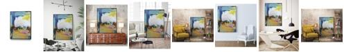 "Giant Art 32"" x 24"" Became Mucho II Art Block Framed Canvas"