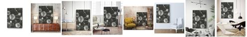 "Giant Art 28"" x 22"" Molecular Fusion I Art Block Framed Canvas"