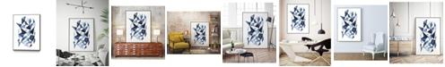 "Giant Art 36"" x 24"" Chrysalis I Art Block Framed Canvas"