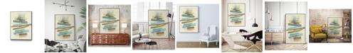 "Giant Art 20"" x 16"" Balancing III Art Block Framed Canvas"