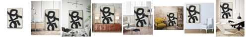 "Giant Art 32"" x 24"" Symbiotic III Art Block Framed Canvas"