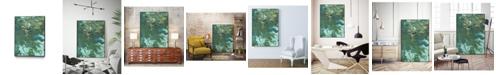 "Giant Art 32"" x 24"" Rambling Sage I Art Block Framed Canvas"