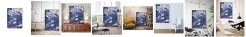"Giant Art 40"" x 30"" Meandering Mulberry I Art Block Framed Canvas"