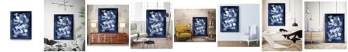 "Giant Art 32"" x 24"" Glass II Art Block Framed Canvas"