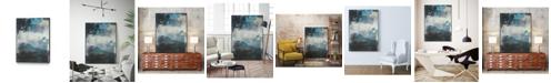 """Giant Art 32"""" x 24"""" Umbra II Art Block Framed Canvas"""