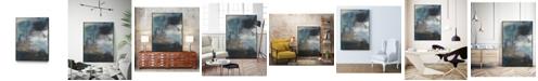 """Giant Art 40"""" x 30"""" Umbra I Art Block Framed Canvas"""