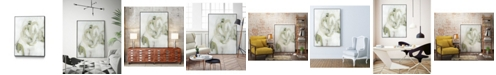 "Giant Art 28"" x 22"" Verge I Art Block Framed Canvas"