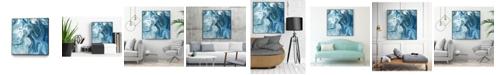 """Giant Art 20"""" x 20"""" Minerals II Art Block Framed Canvas"""