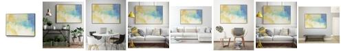 "Giant Art 24"" x 18"" Lux I Art Block Framed Canvas"