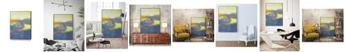 "Giant Art 32"" x 24"" Concord II Art Block Framed Canvas"