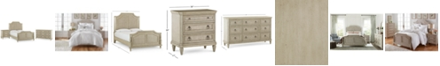Furniture Chelsea Court Bedroom Furniture, 3-Pc. Set (King Bed, Nightstand & Dresser), Created for Macy's