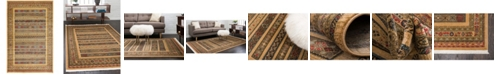 "Bridgeport Home Ojas Oja4 Tan 10' 6"" x 16' 5"" Area Rug"