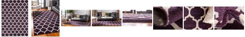 Bridgeport Home Arbor Arb1 Purple 8' x 11' Area Rug