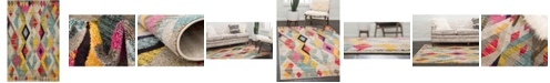 Bridgeport Home CLOSEOUT! Arcata Arc6 Multi 6' x 9' Area Rug