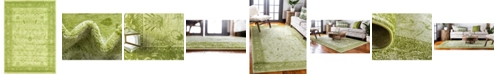 Bridgeport Home Aldrose Ald4 Light Green 4' x 6' Area Rug