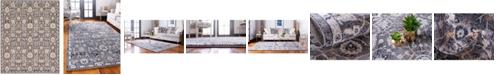 Bridgeport Home Wisdom Wis1 Gray 8' x 10' Area Rug